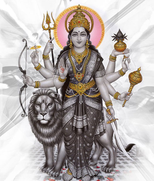 Πατήστε στην εικόνα για να τη δείτε σε μεγένθυνση  Όνομα:  Durga-with-lion.jpg Εμφανίσεις:  230 Μέγεθος:  94,2 KB